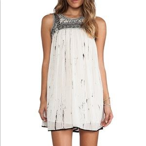 Free People Aztec Bib Dress